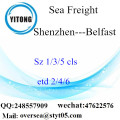 Shenzhen Port LCL Consolidation To Belfast