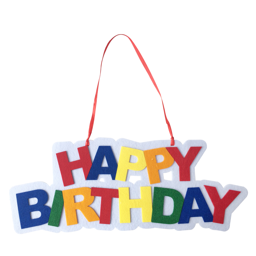 Happy Birthday Wall Hanging Decorations