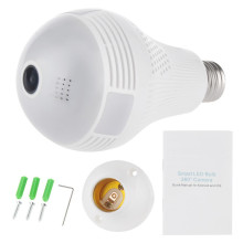 China for 1.3MP Fisheye Panoramic Camera Smart LED Bulb Camera Home Security WiFi Camera supply to Indonesia Wholesale
