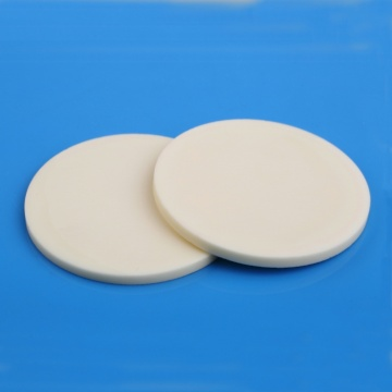 High quality factory for Industrial Ceramic Plate, Alumina Industrial Ceramic Plate, Wear-Resistant Industrial Ceramic Plate, Square Refining Industrial Ceramic Plate Supplier in China Dry pressing 99.5% alumina ceramic disc supply to Italy Supplier
