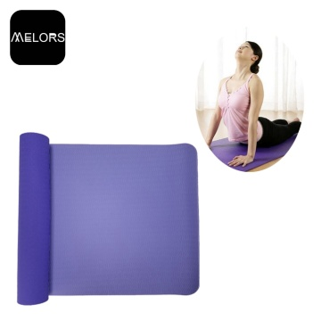 Twin Color TPE Gym Mat Yoga Exercise Mat