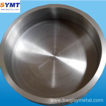 Polished molybdenum Heating crucible