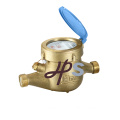 Brass body Multi-jet water meter DN15-DN50 ISO4064
