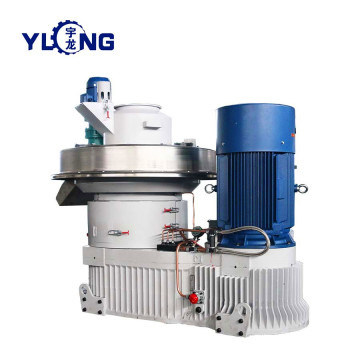 YULONG XGJ850 2.5-3.5T/H straw pellet press for selling