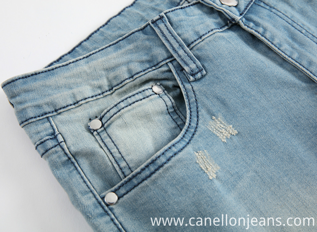 Long Torn Jeans