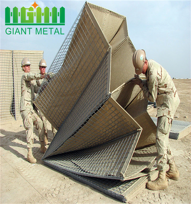 hot sale prevent flooding hesco barrier blast wall