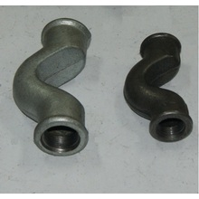 China for Galvanized Fittings Beaded Type Malleable Iron Crossover supply to Saint Kitts and Nevis Supplier