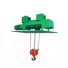 Metallurgical electric hoist for workline