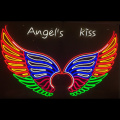 ANGEL WINGS 2 LED NEON ILLININATED SIGNAGE