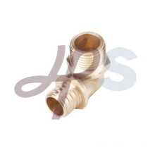 brass pex male elbow fitting
