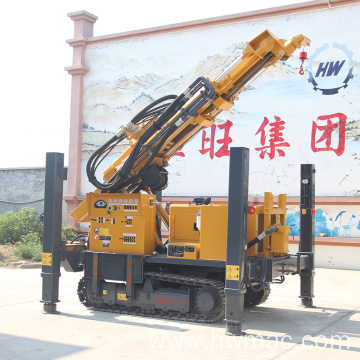 Crawler Pneumatic Drilling Rig For Water