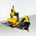 PMZ-16 CNC Gantry Move Plat Drilling Machine