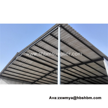 Heat-Insulating Fireproof No-Asbestos MgO Roofing Sheets