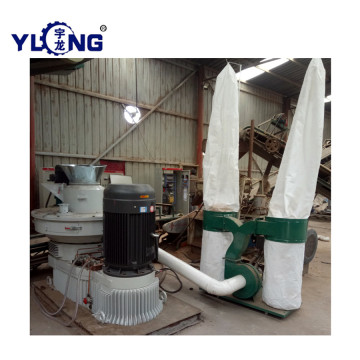 Biomass rice husk pellet making machine line