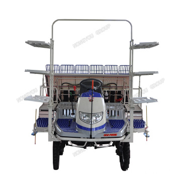 Rice Seedlings Paddy Transplanting Machine High Speed 2Z-6B2