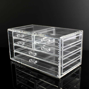 China Top 10 for Acrylic Cosmetic Organizer 6 Drawer Clear Acrylic Cosmetic Organiser supply to South Korea Manufacturer