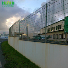 Powder Coat Roll Top wire Panel mesh Fence