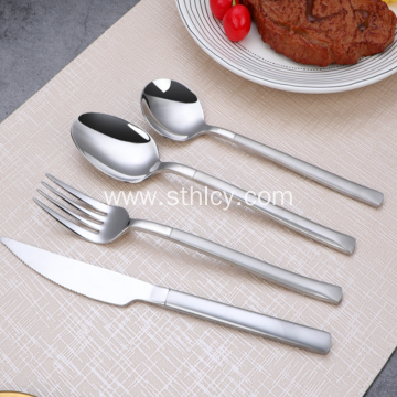 Stainless Steel Western Food Set