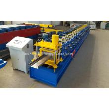 construction machinery steel door frame making machine