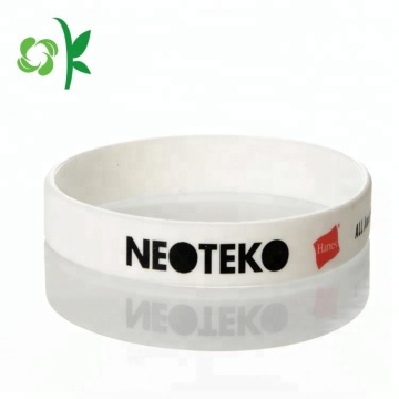 Eco-friendly Printing Silicone Bracelet for Promotional