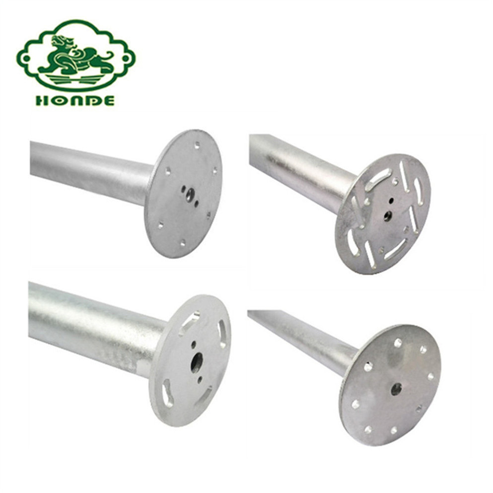 Galvanized Steel High Quality Ground Screw Piles