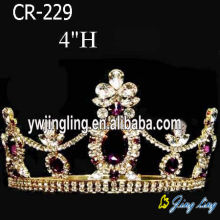 Flower Beauty Queen Crown Full Round