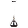 Post Modern Gray Glass Shade Decorative Pendant Light