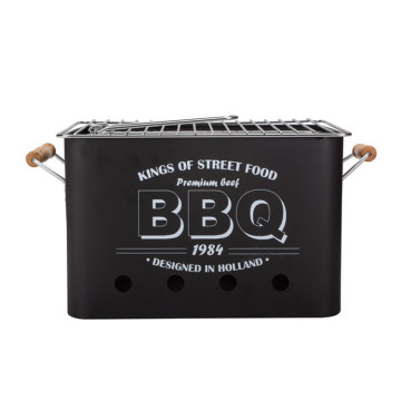 Portable Charcoal Barbeque Mini Bbq Grill Oven