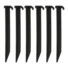 Best Price for for Plant Support Stakes,Plastic Stake,Garden Plant Stakes Manufacturers and Suppliers in China Tree Stake Support Kit Black Plastic Stake supply to Singapore Supplier