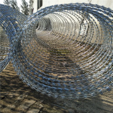 high quality razor barbed wire mesh fence