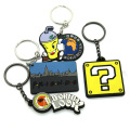 Colorful Custom ryhx fancy design keychain