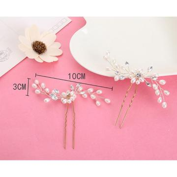 LADES 3 Pcs Bridal Hair Pins Wedding Accessories