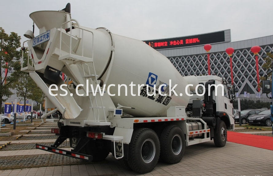 concrete mixer truck price 3
