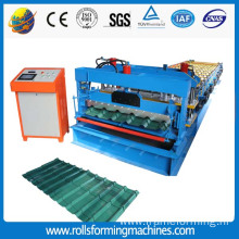Russia Glazed Steel Tile Roll Forming Machine