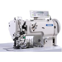 Binding Compound feed sewing machine with horizontal large hook onoff side cutter