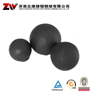 Hot rolling Forged grinding balls for mining 100mm