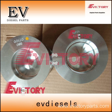 Excavator parts S6KT piston connecting rod crankshaft