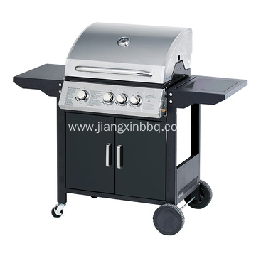 3 Burners With Side Burner Gas Grill
