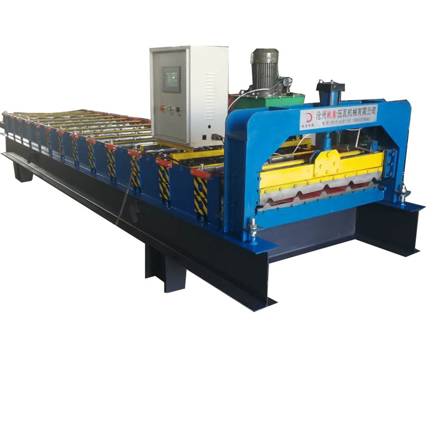 Colored Steel Roof Building Construction Forming Machine