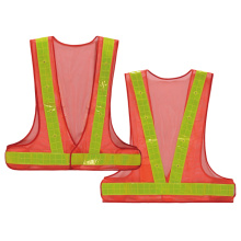 Good Quality for Safety Work Vest Safety vest with lights supply to Cape Verde Supplier