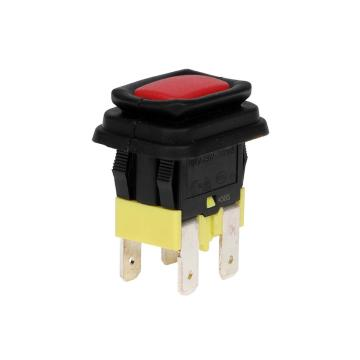 High Current Waterproof Illuminated Push Button Switches