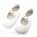 Top Selling Genuine Leather Wave Point Baby Shoes