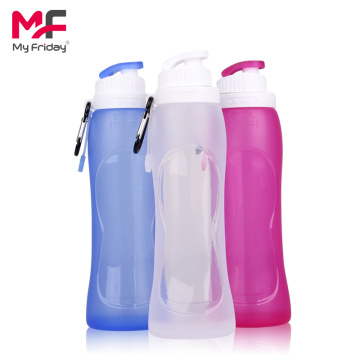 Leak Proof Foldable Silicone Water Bottle