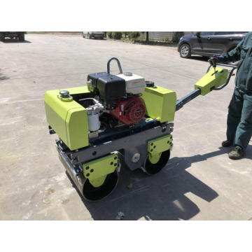 Hand push lightweight portable road roller