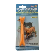 Small Soft Nylon Dog Chew Toy with Chicken Scent