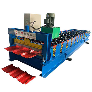 Single Panel Trapezoidal Sheet Making Forming Machine