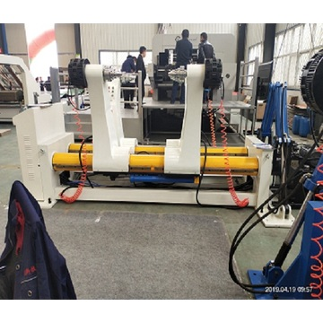 box making production line hydraulic mill roll stand