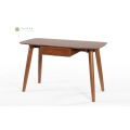 Dark Walnut Solid Wood 1.2M Study Desk