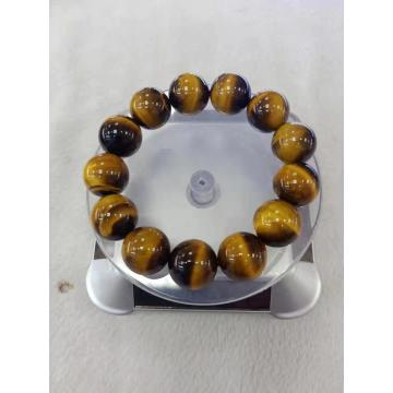 semi precious yellow tiger eye bracelet