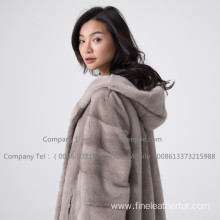 Kopenhagen Mink Fur Women Coat In Winter